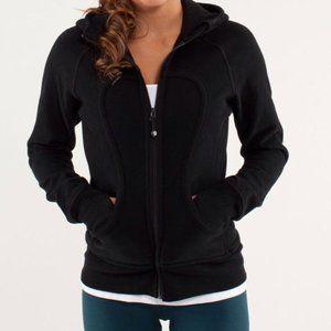 Black Lululemon scuba hoodie